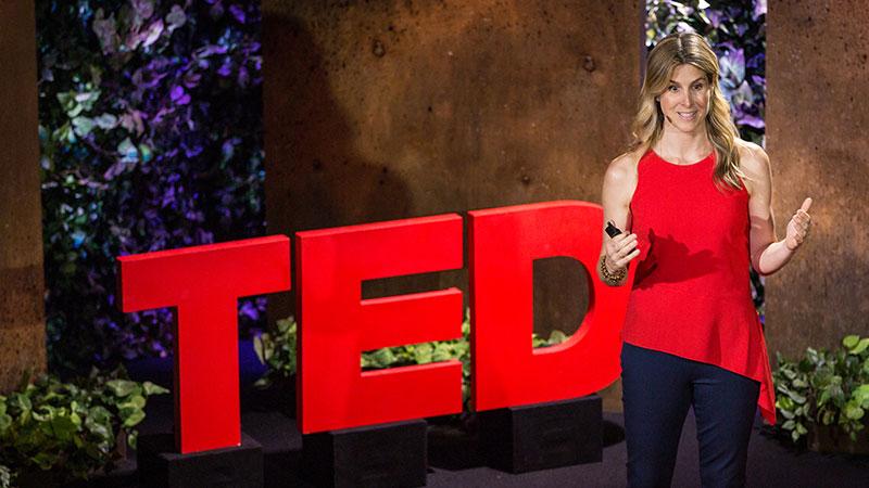 Ariane de Bonvoisin speaks at TED Residency