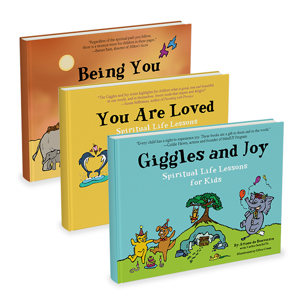 The Giggles and Joy, You Are Loved, and Being You Book Set by Ariane de Bonvoisin