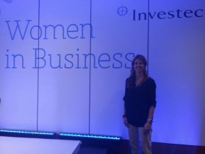 Ariane gives a talk for Women in Business at Investec