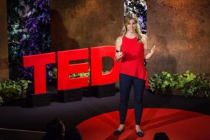 Ariane de Bonvoisin speaks at TED Residency